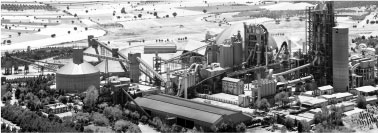 An example cement plant that Ceta has constructed